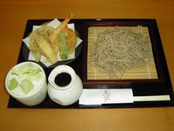 天ぷらせいろそば ¥1,100-