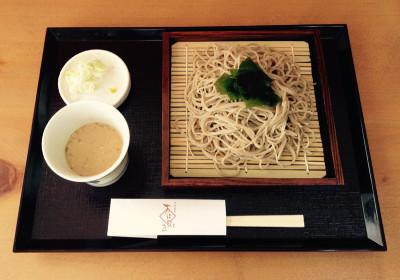 特性ゴマだれ蕎麦 ¥800